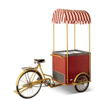 Ποδήλατο Καρότσι Παγωτού