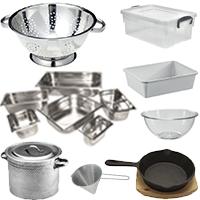 02) Επαγγελματικά Σκεύη Κουζίνας
