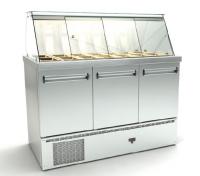 ψυγείο βιτρίνα με μοτέρ από κάτω