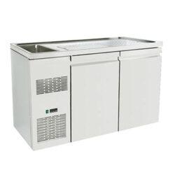 Ψυγείο Πάγκος Συντήρηση για Μπύρα με Μοτέρ 160 x 70 x 96cm Geniko Emporio Επαγγελματικός Εξοπλισμός Επιχειρήσεων Εστίασης και Ξενοδοχείων