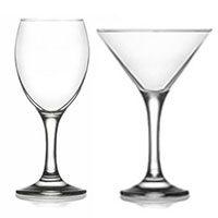 Ποτήρια Κολωνάτα - Κρασιού